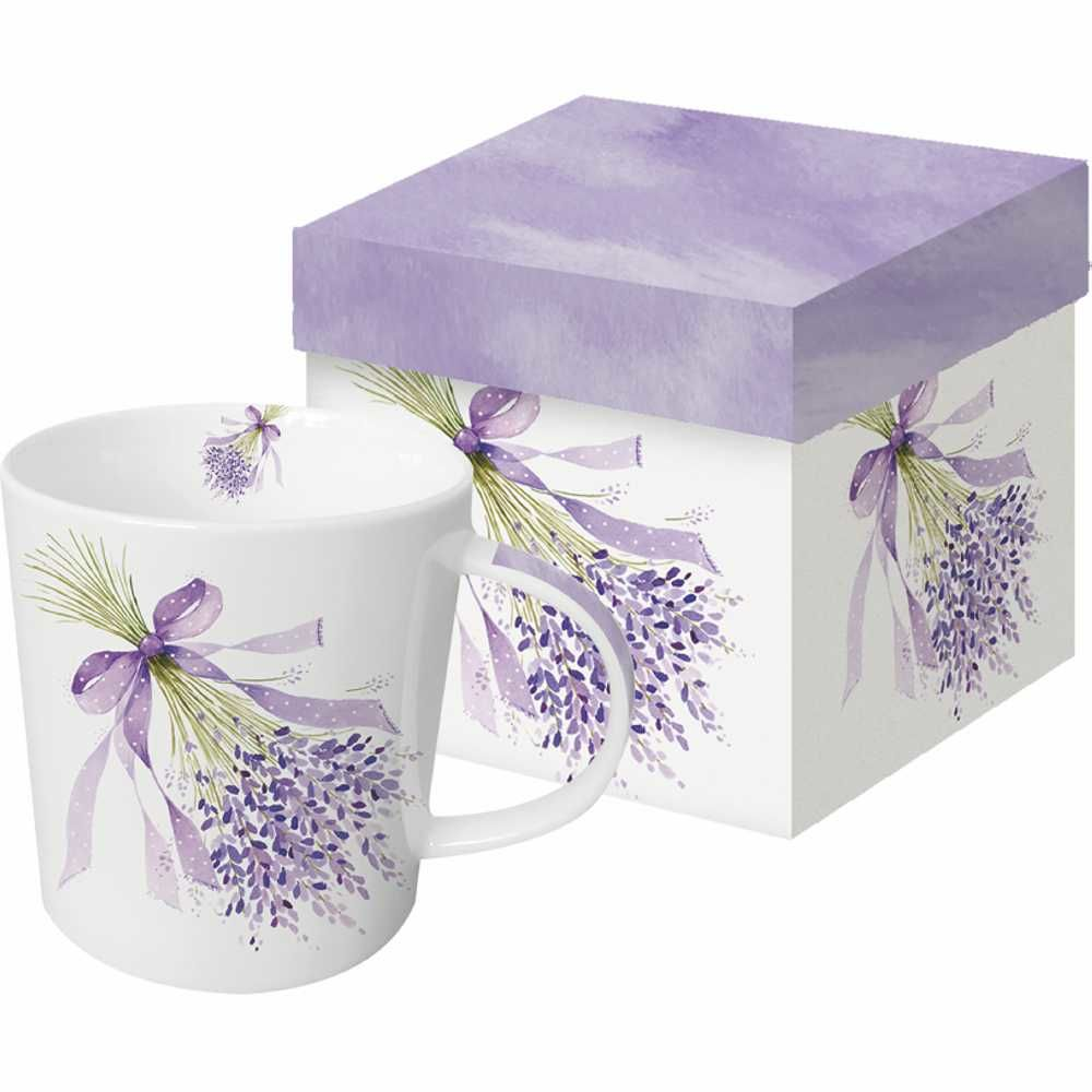 Lavender Mug in Gift Box - product image