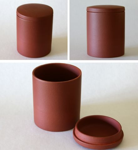 Yixing,Clay,Red,Tea,Canister,Yixing_Clay_Tea_Canister