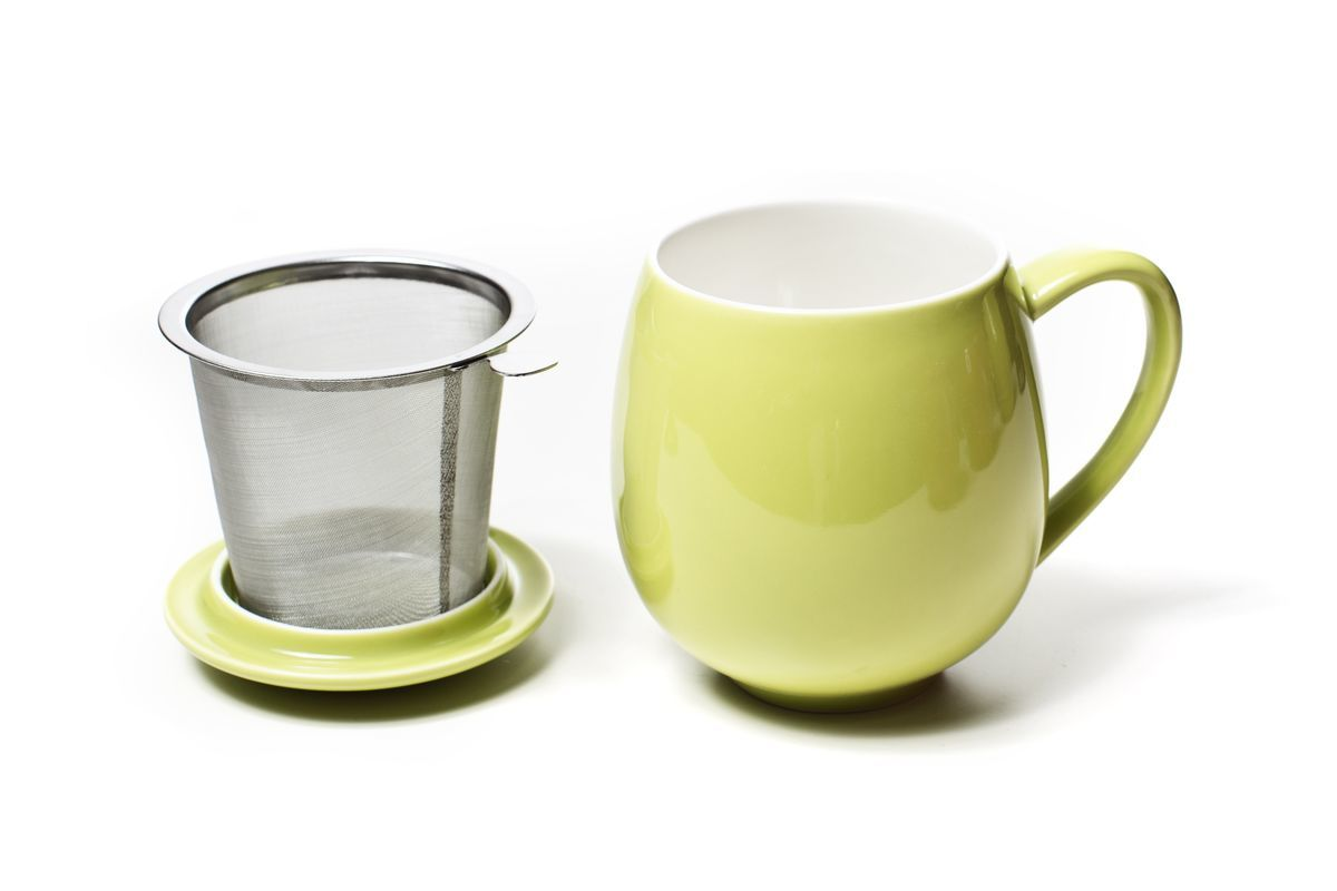 Tea Mug with Infuser and Lid - 11.8 fl. oz. - product images  of
