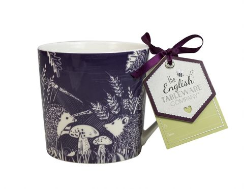 Hedgehog,Artisan,Mug,Blackberry,English_Tableware_Company_Artisan_Hedgehog_Mug