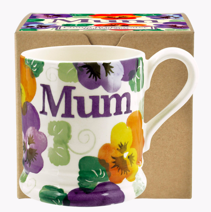 Purple Pansy MUM Mug by Emma Bridgewater - product images  of