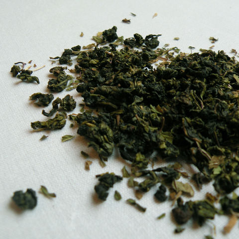Cream,Mint,oolong, london tea merchant blend, ltm blend, cream mint
