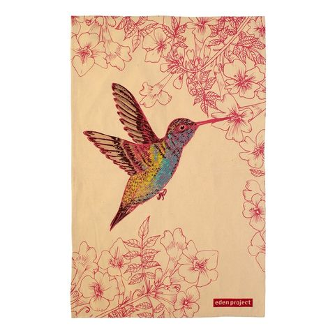 Eden,Project,Tea,Towel,Hummingbird,Eden-Project_Hummingbird-Tea-Towel-Cotton