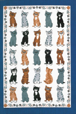 Kittens,Arrived,Linen,Tea,Towel,Kittens-Arrived-Linen-Tea-Towel-from-Ulster-Weavers