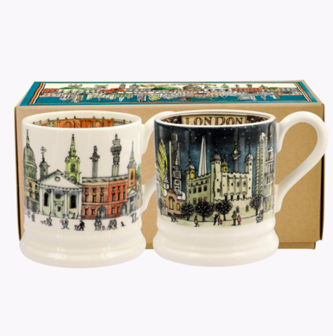 London,Set,2,Mugs,by,Emma,Bridgewater,Emma Bridgewater London Set 2 Mugs