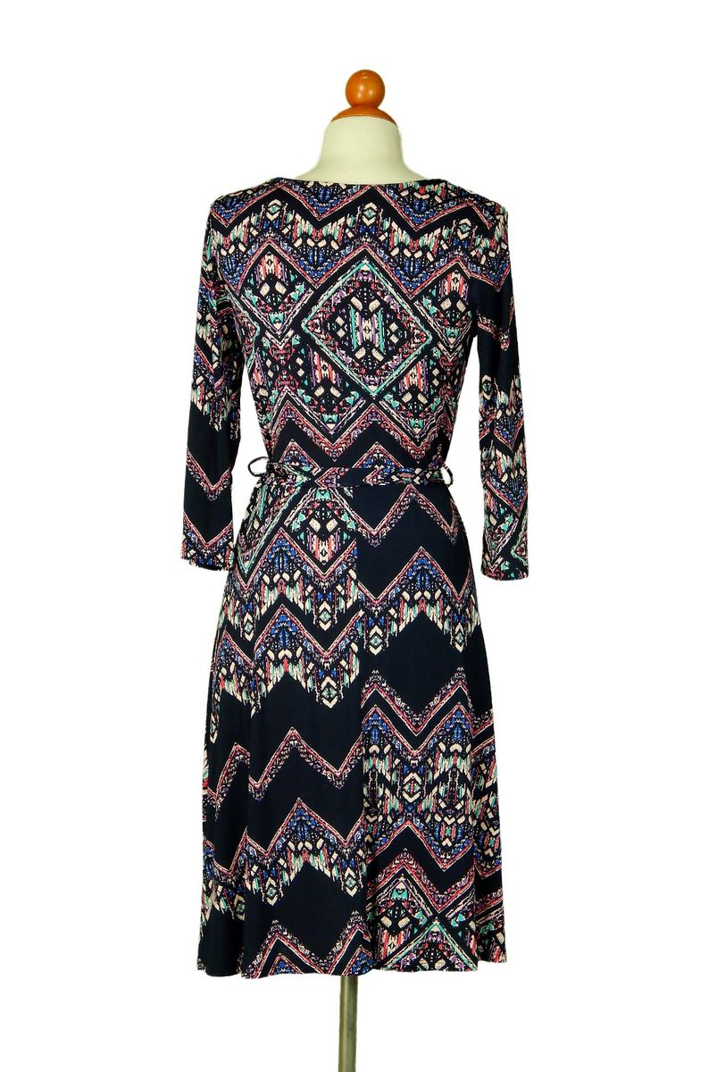 Chevron marrocan wrap dress - product images  of