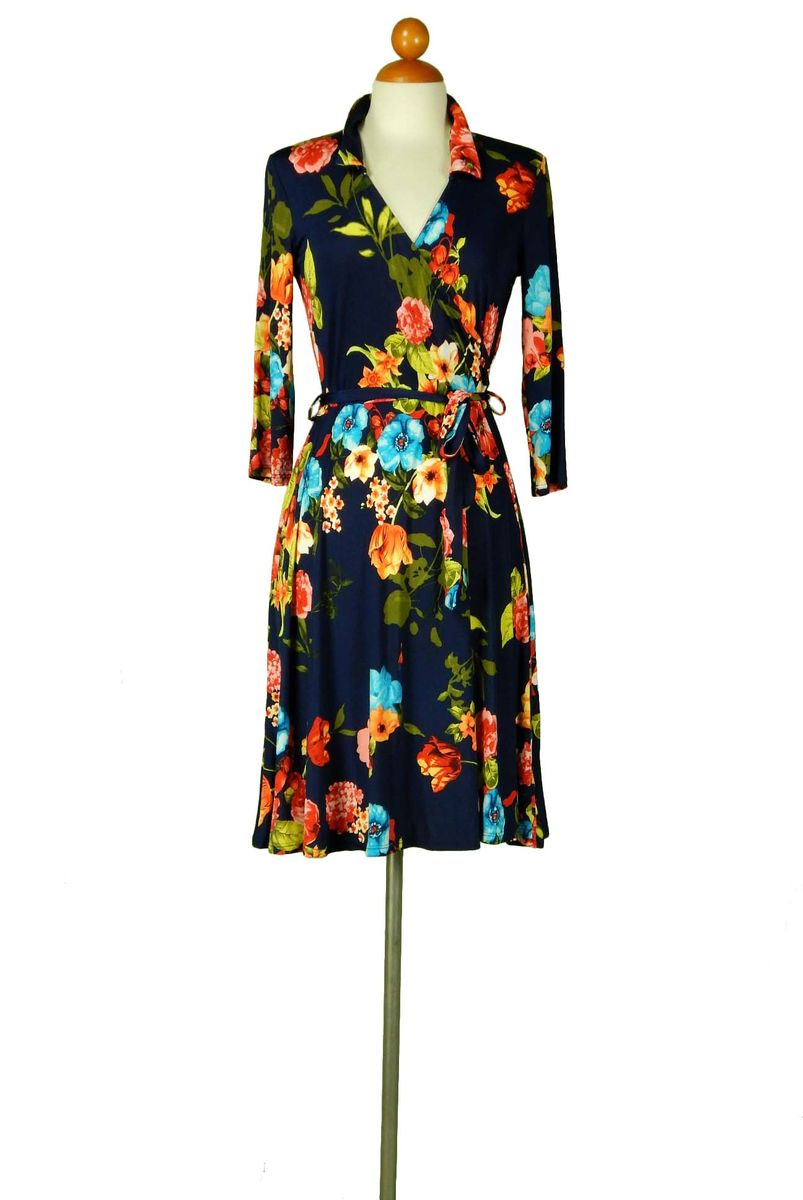 Moonlight garden wrap dress - product images  of