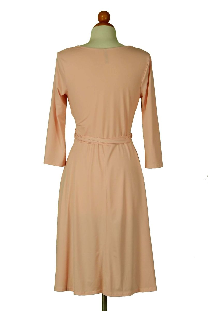 Blush wrap dress - product images  of