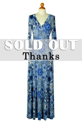 Blue,puzzles,in,paisley,maxi,wrap,dress,Blue puzzles in paisley maxi wrap dress , redapparelonline, 6ws, Janette fashion, Janette, Maxi wrap dress, wrap dress, work dress, vacation dress, affordable wrap dress