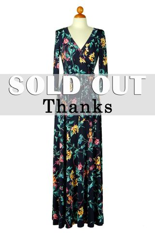 Branch,floral,in,navy,maxi,wrap,dress,Branch floral in navy maxi wrap dress , red apparel, redapparelonline, 6ws, Janette fashion, Janette, Maxi wrap dress, wrap dress. work dress, vacation dress, affordable dress