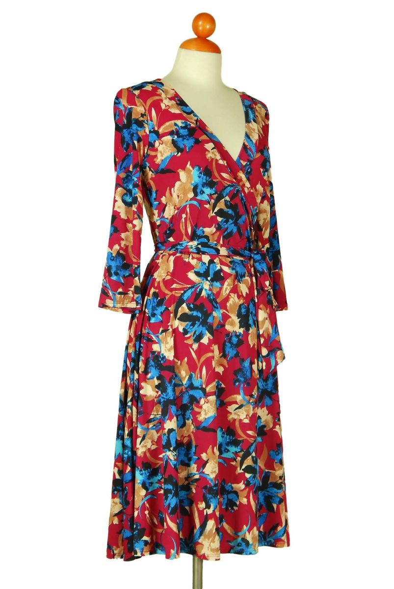 Bloom in desert wrap dress - product images  of
