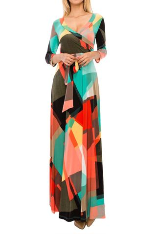 New,Symmetrical,in,color,2018,maxi,wrap,dress,new Symmetrical in color 2018 maxi wrap dress , redapparelonline, 6ws, Janette fashion, Janette, Maxi wrap dress, wrap dress, work dress, vacation dress, affordable wrap dress
