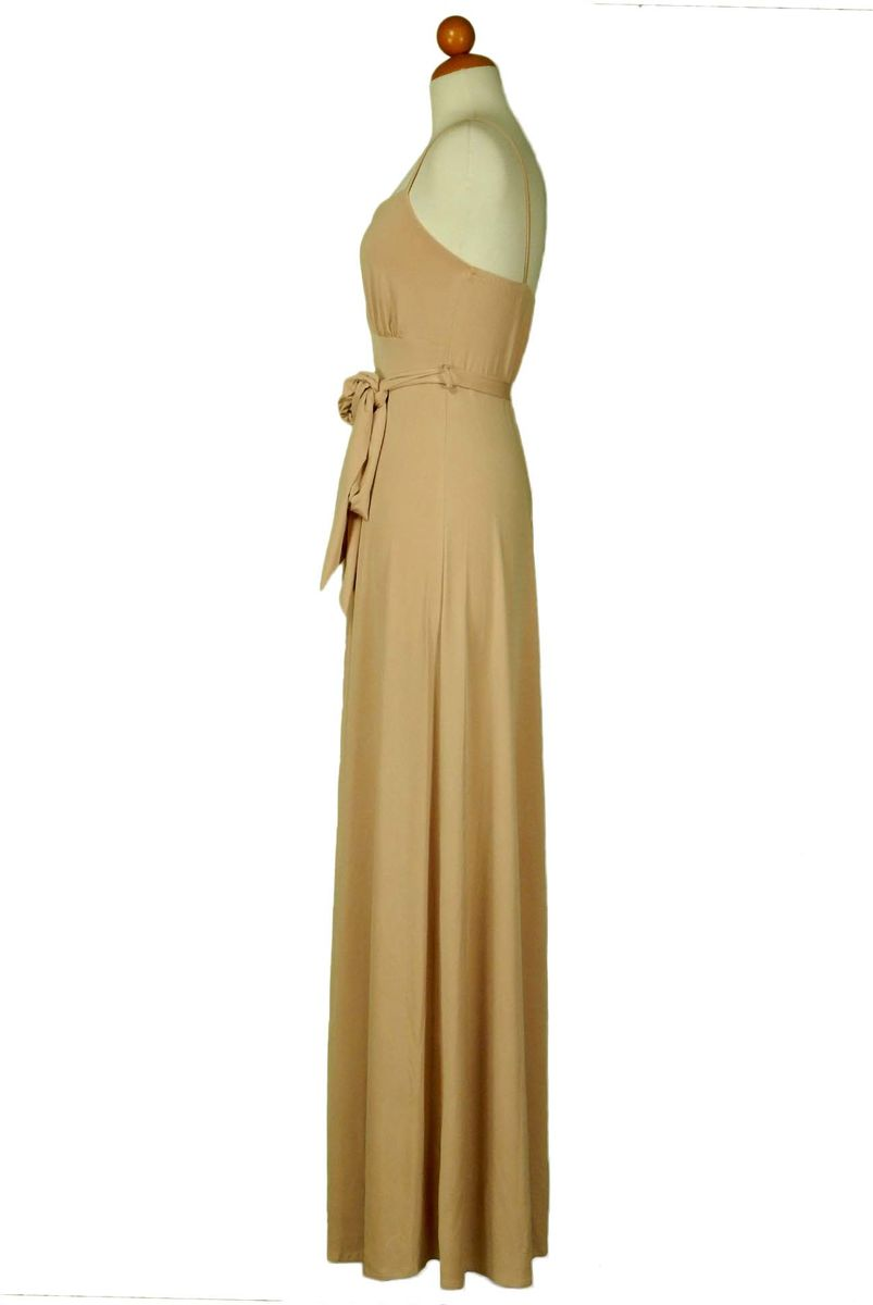 Champagne spaghetti strap dress - product images  of
