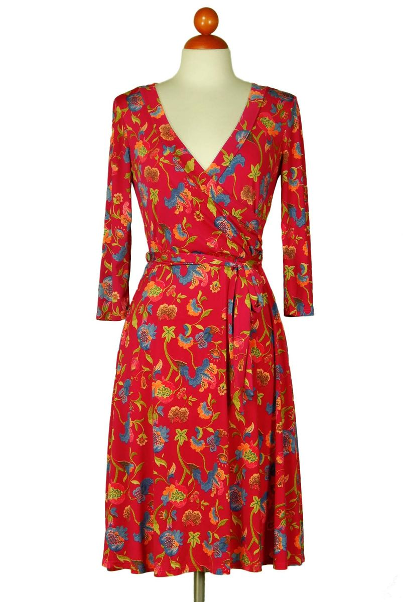Flower field wrap dress - product images  of