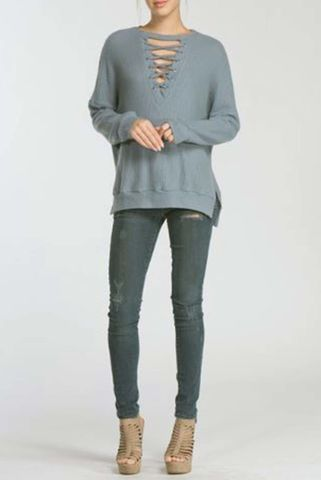 Loose,fit,long,sleeve,top,Cardigan