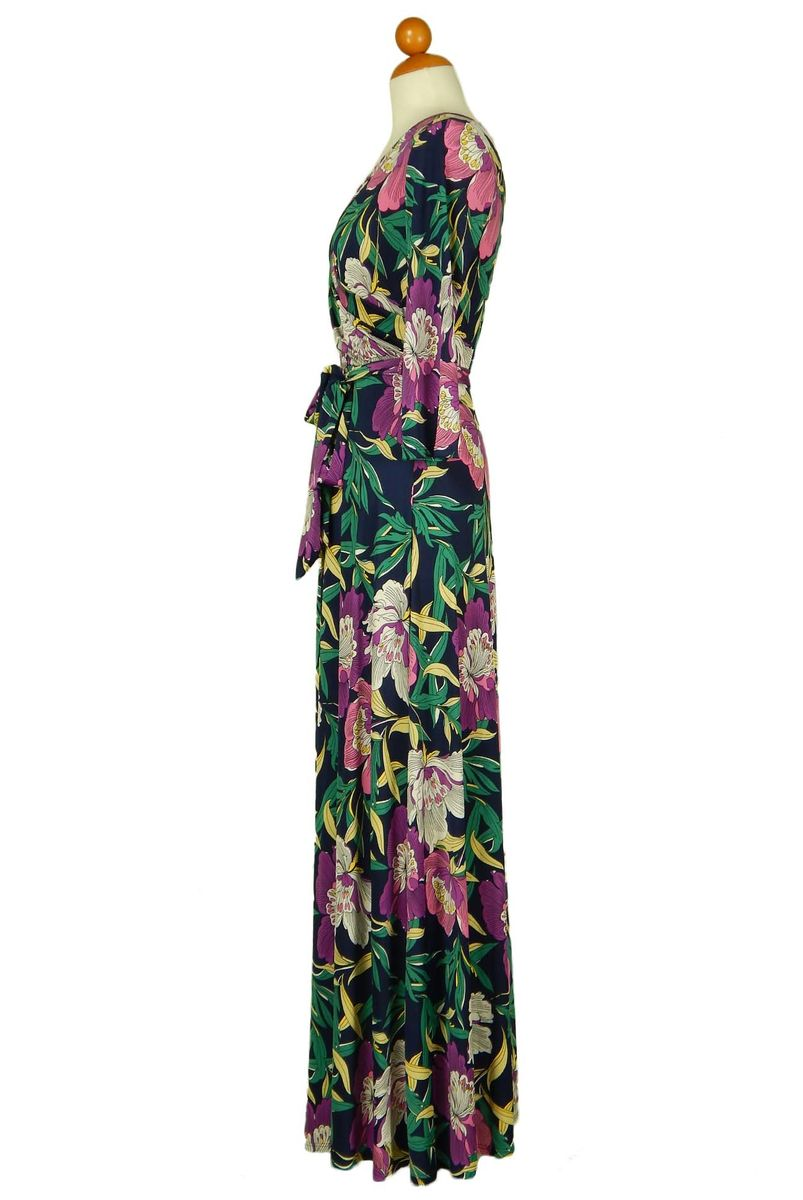Magnolia in pink maxi wrap dress - product images  of