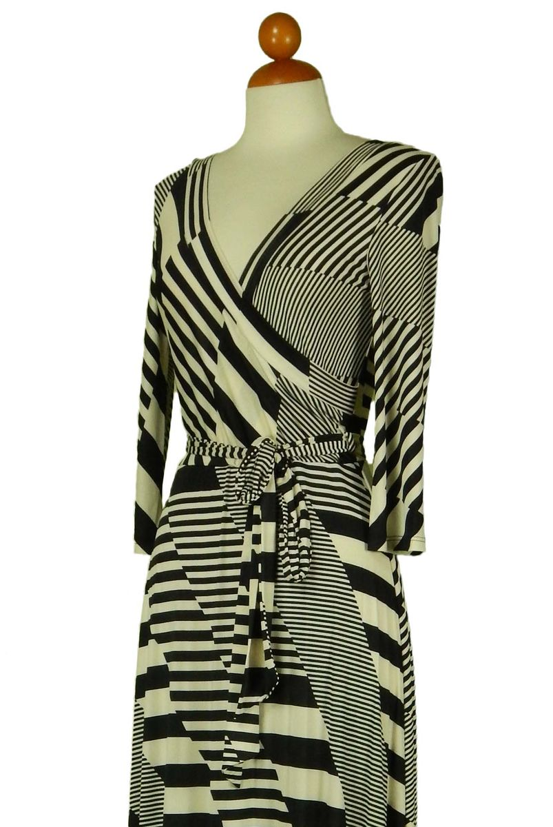 Inception in black maxi wrap dress - product images  of