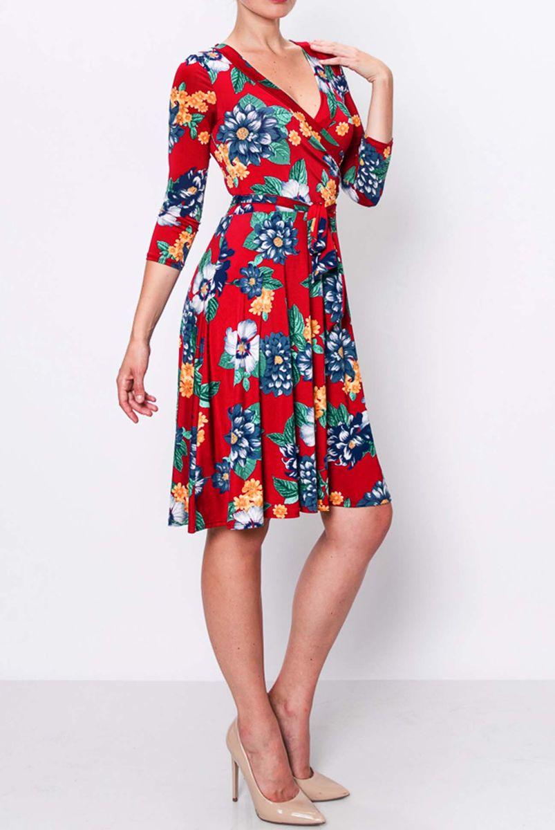 Lost in paradise wrap dress - product images  of