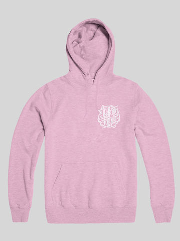 AnyForty,Idents,-,Family,Pastel,Pink,Pullover,Hoody, Ident, Logo, Branded, Andre Beato
