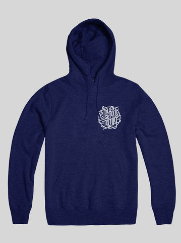 AnyForty,Idents,-,Family,French,Navy,Pullover,Hoody, Ident, Logo, Branded, Andre Beato