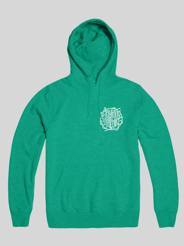 AnyForty,Idents,-,Family,Mint,Green,Pullover,Hoody, Ident, Logo, Branded, Andre Beato
