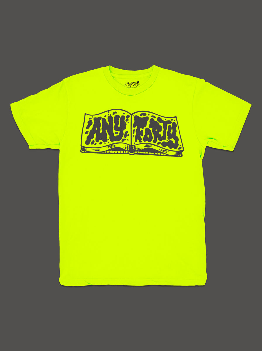 10 Summers: AnyForty Idents - RichT Refix - Neon Yellow Short Sleeve Tee - product image