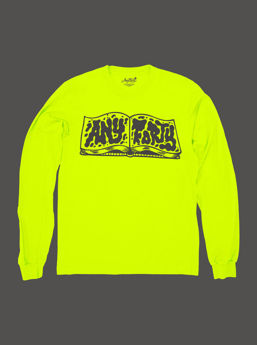 10 Summers: AnyForty Idents - RichT Refix - Neon Yellow Long Sleeve Tee - product image
