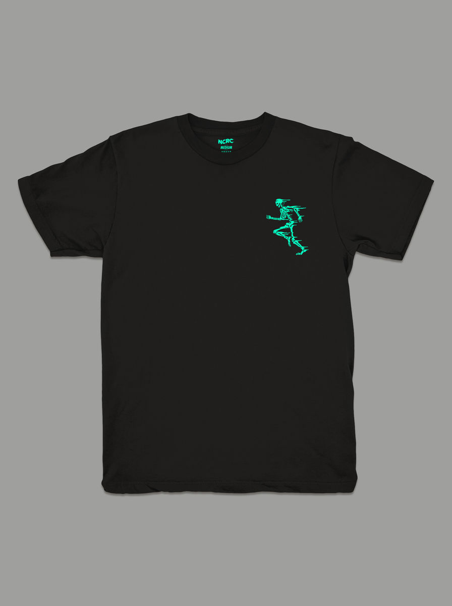 AnyForty Presents No Club Running Club - Short Sleeve Tee - product images  of