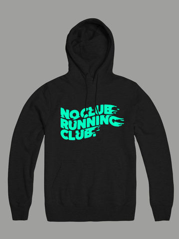 AnyForty,Presents,No,Club,Running,-,Dry,Blend,,Moisture-wicking,Pullover,Hoody, No Club Running Club