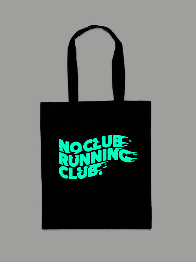 AnyForty Presents No Club Running Club - Tote Bag - product image