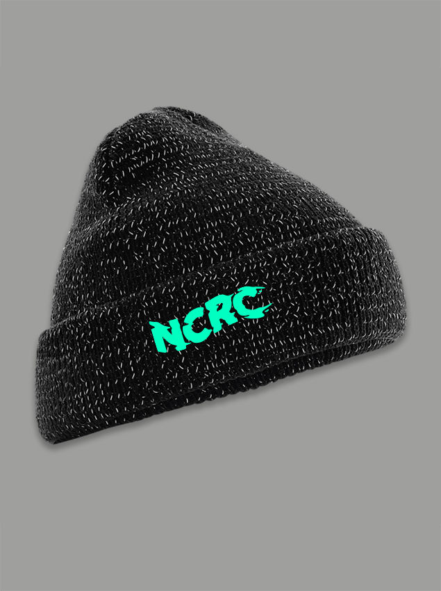 AnyForty Presents No Club Running Club - Reflective Beanie - product image