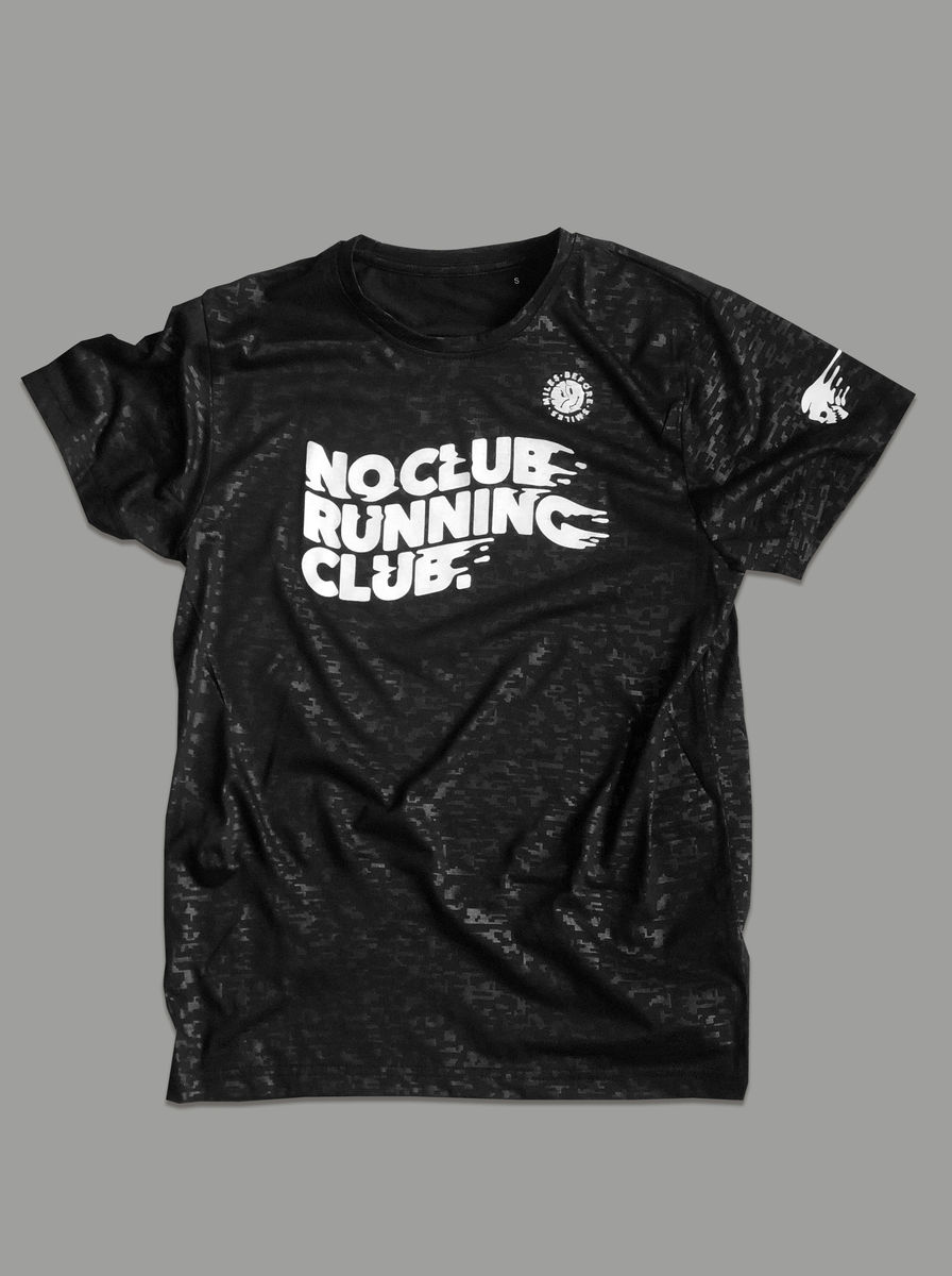 AnyForty Presents No Club Running Club - Short Sleeve Running Jersey - product images  of