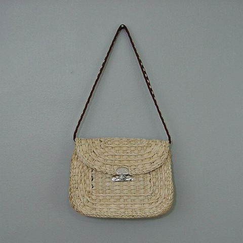 70s,Italian,Made,Straw,Shoulder,Bag,1970s, 70s, vintage, retro, hippie, straw, organic, macrame, purse, handbag, bag, Italian