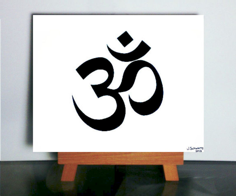Om Aum Paper Cutting - product images