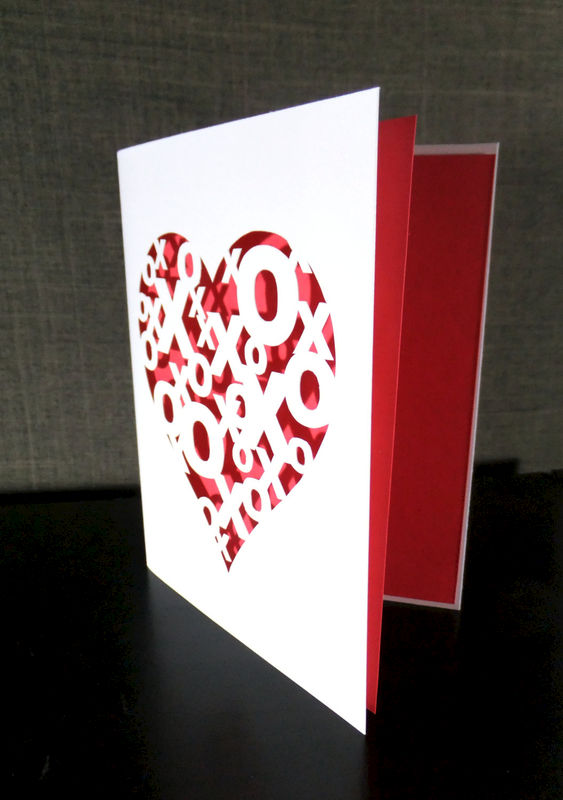 Hugs and Kisses Greeting Card - product image