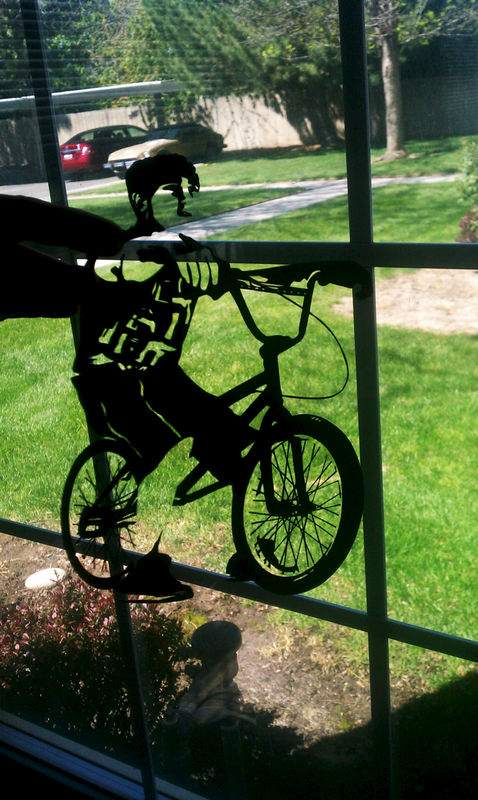 Bicycle Lover BMX Paper Art - product image