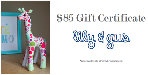 $85,Gift,Certificate,gift certificate, custom clothing, hand dyed, lily and gus, personalized clothing