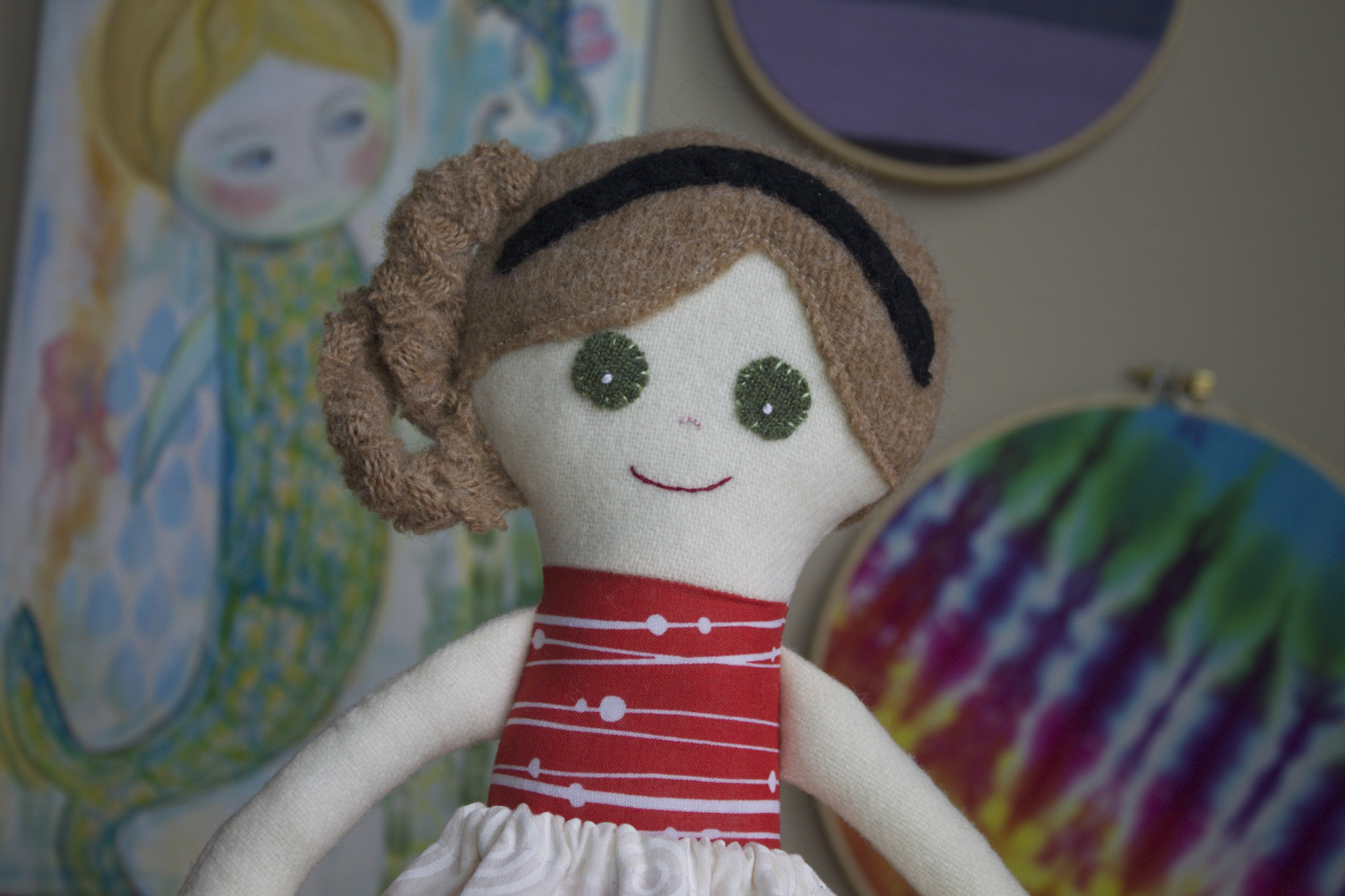 custom rag doll