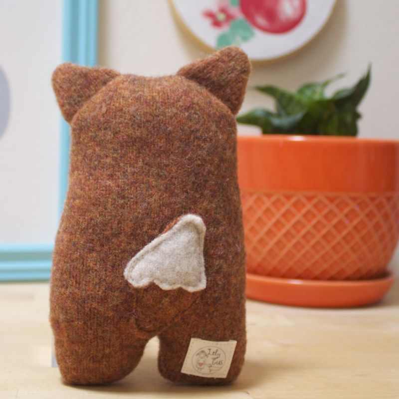 Fluffy - Wool Plush Fox - product image