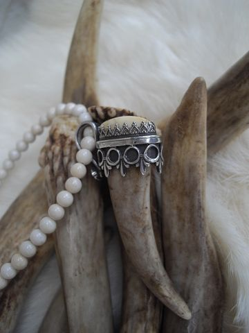 deer,antler,tip,and,elk,ivory,set,in,a,sterling,silver,cap,pendant,necklace,bear country studio, deer antler, deer antler necklace, antler tip necklace, tribal deer, spirit deer, elk ivory, elk ivory necklace, elk jewelry, elk necklace,  totem deer, spirit guide necklace, pagan, tribal jewelry, sterling silver necklace, native am