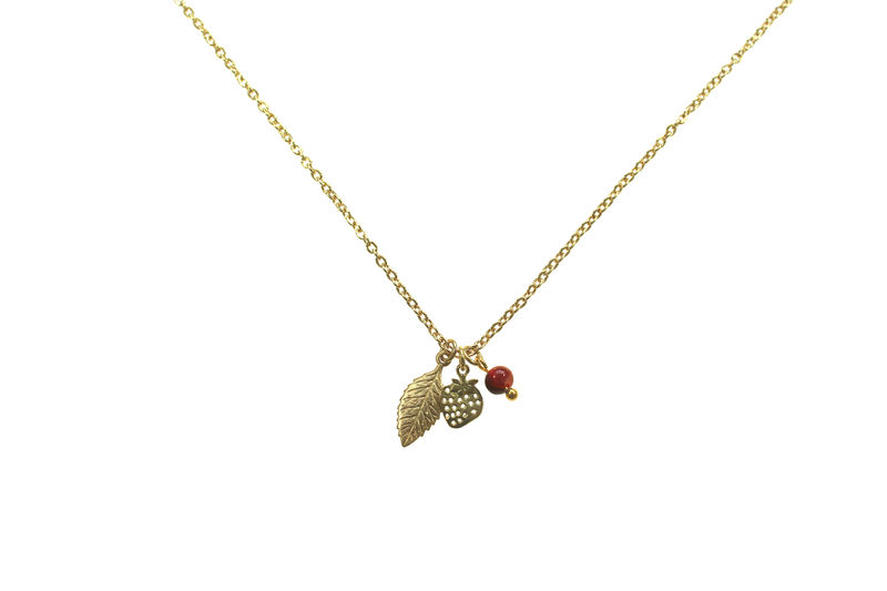 Strawberry fields charm necklace - product image