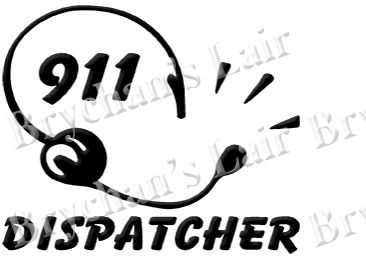 911,Dispatcher,Designer,Custom,Novelty,Grosgrain,Ribbon,911 Dispatcher Custom Novelty Designer Grosgrain Ribbon, novelty craft ribbon, designer grosgrain ribbon, custom printed ribbon, usa made grosgrain ribbon