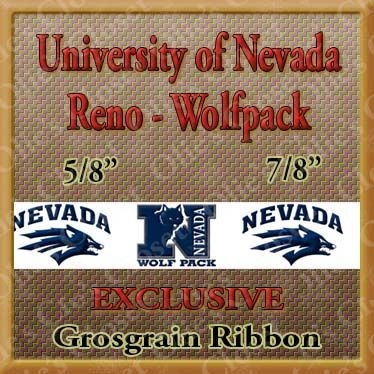 Nevada,University,Reno,Wolfpack,Grosgrain,Ribbon,Nevada University Reno Wolfpack  ribbon, mlb grosgrain ribbon, nfl grosgrain ribbon, nba grosgrain ribbon, ncaa grosgrain ribbon, nhl grosgrain ribbon, custom printed grosgrain ribbon, designer grosgrain ribbon, team grosgrain ribbon