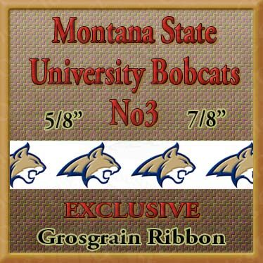 Montana,State,University,Bobcats,No3,Custom,Designed,Grosgrain,Ribbon,Montana State University Bobcats Custom Designed Grosgrain Ribbon, breed specific dog ribbon, craft dog ribbon, grosgrain ribbon, dog breed grosgrain ribbon, custom grosgrain ribbon, designer grosgrain ribbon, pedigree dog grosgrain rib