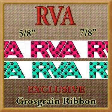 RVA,Paws,Fuchsia,or,Teal,Custom,Designed,Grosgrain,Ribbon,Cape Cod I Love Cape Cod No1 Custom Designed Grosgrain Ribbon, novelty craft ribbon, designer grosgrain ribbon, custom printed ribbon, usa made grosgrain ribbon