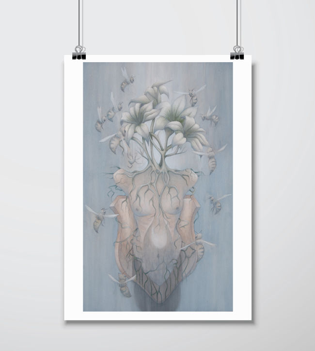 'Apiphobia' Signed Giclee Print A3 - product images  of