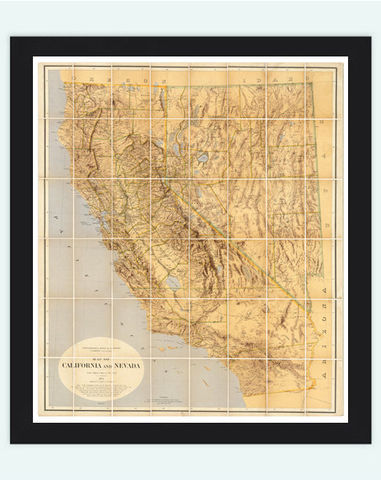 Vintage,Map,of,California,and,Nevada,1874,Art,Reproduction,Open_Edition,vintage,United_States,antique,vintage_california,old_california_map,map_of_california,retro_california,california_poster,america,nevada,nevada_map,california_map,old_map