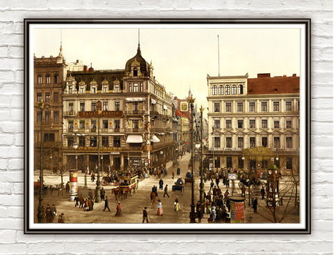 Vintage,Photo,of,Berlin,Cafe,Bauer,,Germany,1900,Art,Reproduction,Open_Edition,vintage_poster,travel_poster,germany_decor,germany_medieval,germany_vintage,germany_poster,germany,german_decor,picturesque,cafe_bauer,berlin,berlin_vintage,berlin_retro