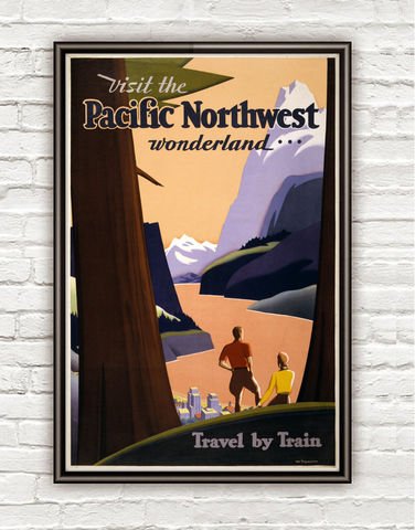 Vintage,Poster,of,Pacific,Northwest,1925,,,Travel,By,Train,,North,America,Art,Reproduction,Open_Edition,vintage_poster,retro_poster,travel_poster,touristic_poster,pacific_northwest,wonderland,travel_train,pacific_poster,wonderland_america,north_america_poster,america_poster