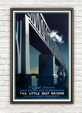 Vintage,Poster,of,Bridge,Scandinavia,Britain,1920,Tourism,poster,travel,Art,Reproduction,Open_Edition,vintage_poster,travel_poster,lido_poster,scandinavia_travel,scandinavia_tourism,britain,scandinavia_poster,britain_poster,scandinavia_decor,britain_decor,vintage_retro_poster,scandinavia_vintage